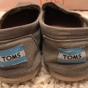 Toms Shoes - Grey Classic Toms